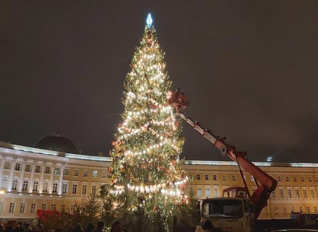 spb - Самые красивые в мире новогодние елки 2021