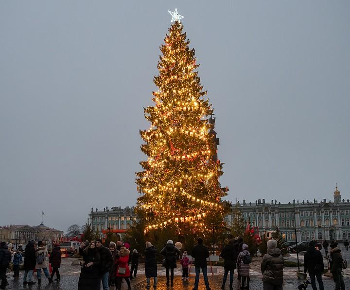 spb2 - Самые красивые в мире новогодние елки 2021