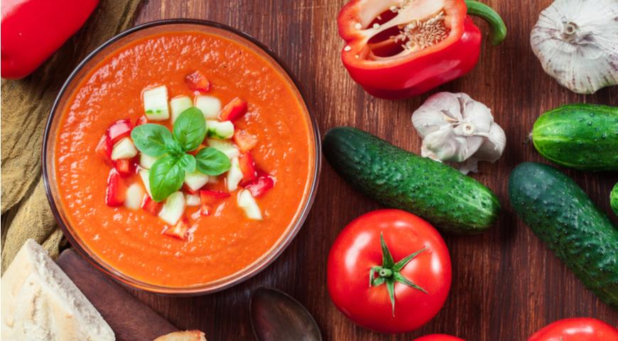 gaspacho - Еда для бедных, ставшая деликатесами