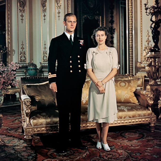 filipp i elizaveta - Ушел из жизни 99-летний принц Филипп - муж Елизаветы II. Смотрим фото принца в молодости