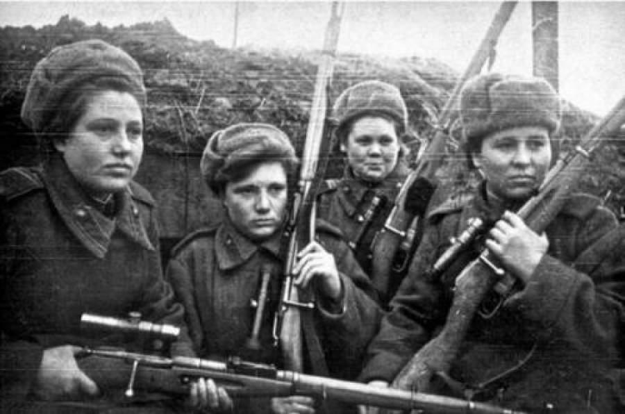 zhenshhiny vojny - Мужские кальсоны и белье из парашютов: что носили женщины во время Великой Отечественной войны