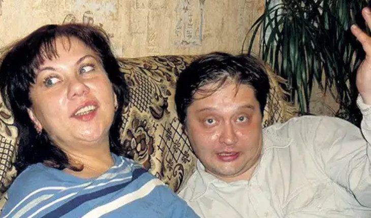 Марина Федункив с Сергеем Щелчковым