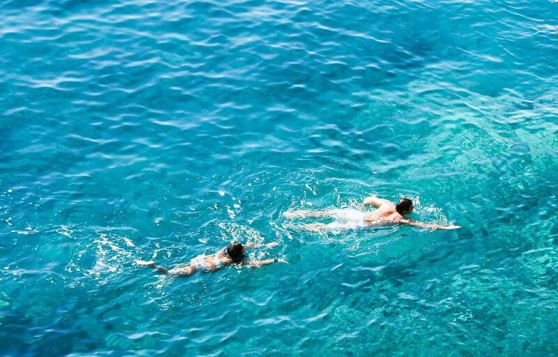 Плавание летом